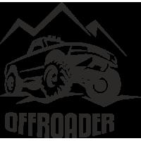 Sticker 4x4 offroader