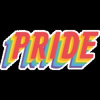 Sticker Pride Rainbow LBGT