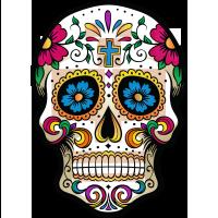 Calavera - Tête de mort mexicaine 1