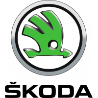 Sticker Logo Skoda