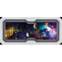 Sticker Hublot Galaxie Univers