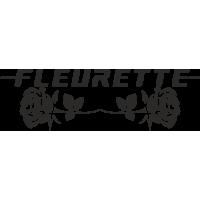 Sticker Fleurette Roses