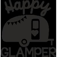 Sticker Happy Glamper
