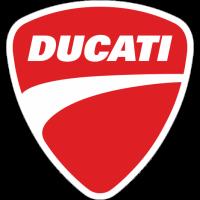 Sticker LOGO DUCATI Rouge