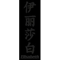 Prenom Chinois Elisabeth