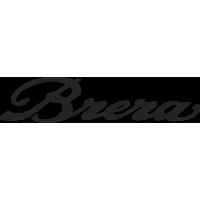 Sticker Alfa Romeo Brera