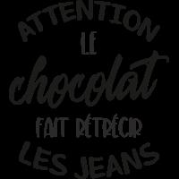 Sticker Citation Chocolat