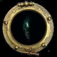 Sticker Hublot Alien 4