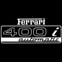 Sticker FERRARI 400i (2)