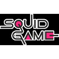 Sticker Squid Game logo