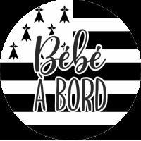 Sticker Bébé à Bord Bretagne