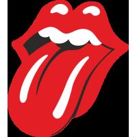Sticker Rolling Stones 3
