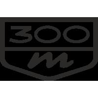 Sticker Chrysler 300M