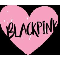 Sticker Black Pink