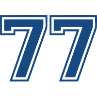 Sticker Valtteri Bottas 77