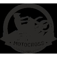 Sticker Déco Baril Moto Cross