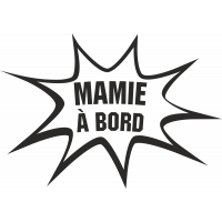 Sticker Humour Mamie