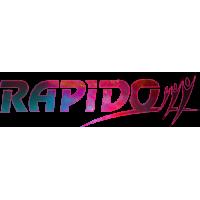 Sticker RAPIDO Custom 4