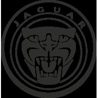 Sticker Jaguar Tête