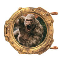 Sticker Hublot Singe Gorille