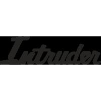 Sticker SUZUKI INTRUDER logo