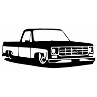 Sticker CHEVROLET C10 Car