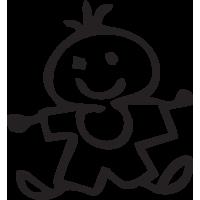 Sticker Famille Bébé garçon 2