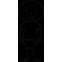 Sticker Famille Bébé garçon