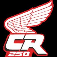 Sticker HONDA CR 250 RECTO