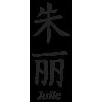 Prenom Chinois Julie