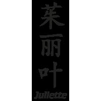 Prenom Chinois Juliette