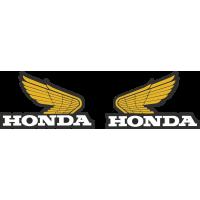 Kit Autocollants Honda Ailes 1970