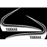 Kit autocollants Yamaha 250 350 RD 1973 Réservoir
