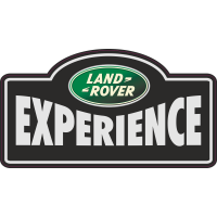 Autocollant Land rover Experience