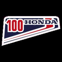 autocollant HONDA_100_DROITE