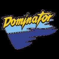 autocollant HONDA_DOMINATOR_GAUCHE