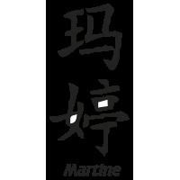 Prenom Chinois Martine