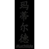 Prenom Chinois Mathilde