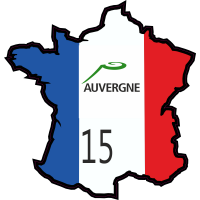 Stickers Cantal ( Auvergne )