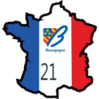 Stickers Cote-d'Or (Bourgogne)