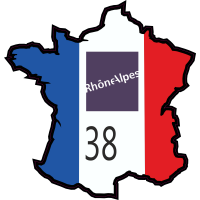 Stickers Isere (Rhone Alpes)