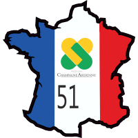 Stickers Marne (Champagne Ardennes)