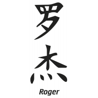 Prenom Chinois Roger