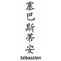 Prenom Chinois Sebastien
