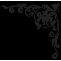 Sticker Mural Baroque SI061