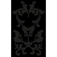 Sticker Mural Baroque SI062