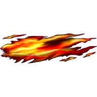 Autocollant Flamme