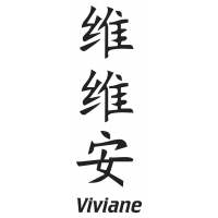 Prenom Chinois Viviane