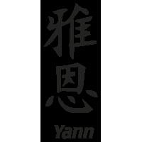 Prenom Chinois Yann