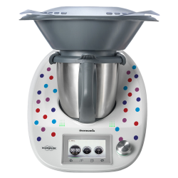 Stickers Thermomix TM15 Points Multicolors
